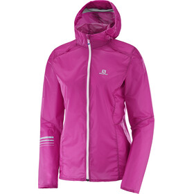 Salomon Lightning Wind Hoodie Women rose violet